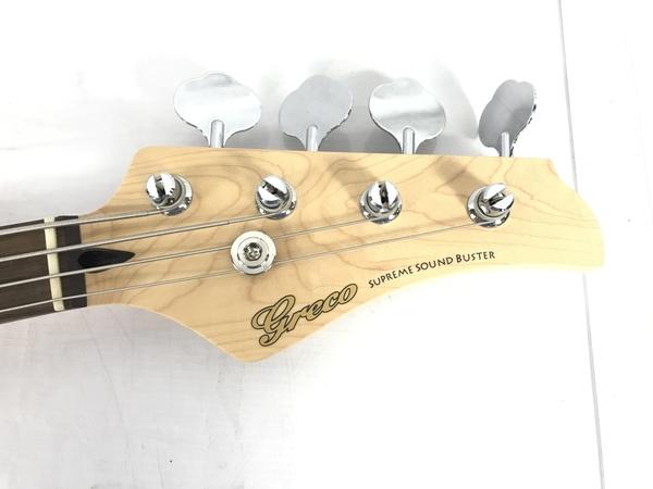 グレコ SUPREME SOUND BUSTER 4弦 エレキベース 楽器 中古 良好 S5621028_画像4