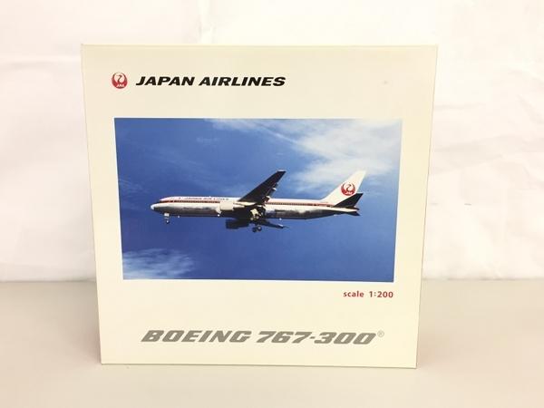 日本航空 JAL BJQ1187 BOEING 767-300 1/200 飛行機 模型 中古 良好 K5641442_画像2