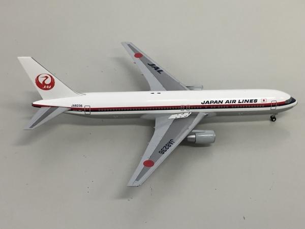 日本航空 JAL BJQ1187 BOEING 767-300 1/200 飛行機 模型 中古 良好 K5641442_画像4