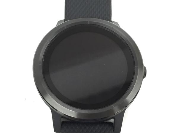 GARMIN ガーミン VIVOACTIVE 3 光学心拍計内蔵 GPS スマートウォッチ 腕時計 中古 良好 T5637210_画像3