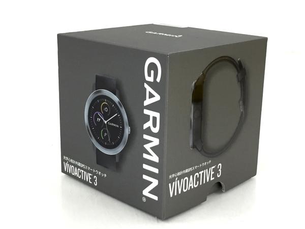 GARMIN ガーミン VIVOACTIVE 3 光学心拍計内蔵 GPS スマートウォッチ 腕時計 中古 良好 T5637210_画像8