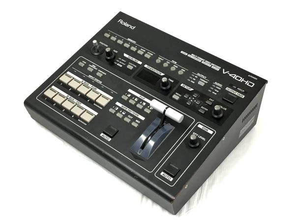 Roland V-40HD マルチフォーマット ビデオスイッチャー HDMI 1080/60p対応 4×3入力 ジャンク T5676828_画像1