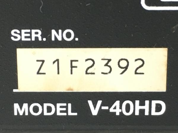 Roland V-40HD マルチフォーマット ビデオスイッチャー HDMI 1080/60p対応 4×3入力 ジャンク T5676828_画像10