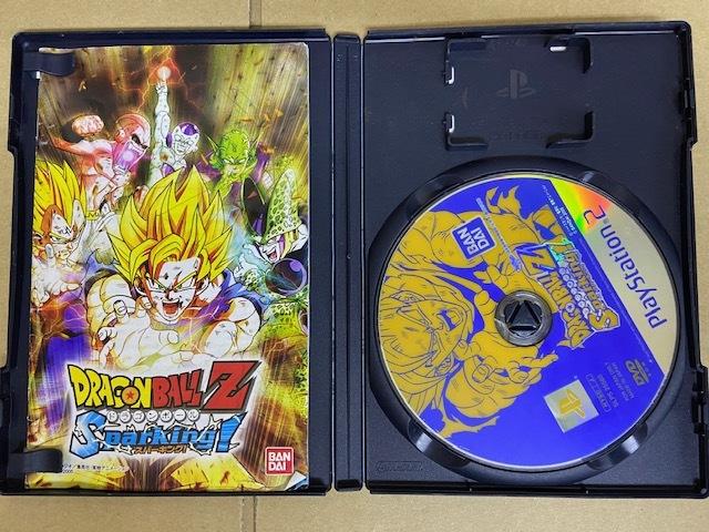 中古PS2ソフト ドラゴンボールZ Sparking! y25_画像2