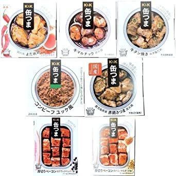 缶つま お肉詰め合わせ 7種類セット (各種1つ)お酒のおつまみ 保存食にも (四川風よだれ鶏、牛_画像1