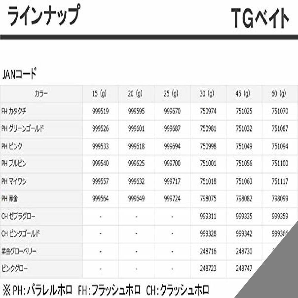 ★PHマイワシ 60g ダイワ(DAIWA) メタルジグ TGベイト ルアー_画像4