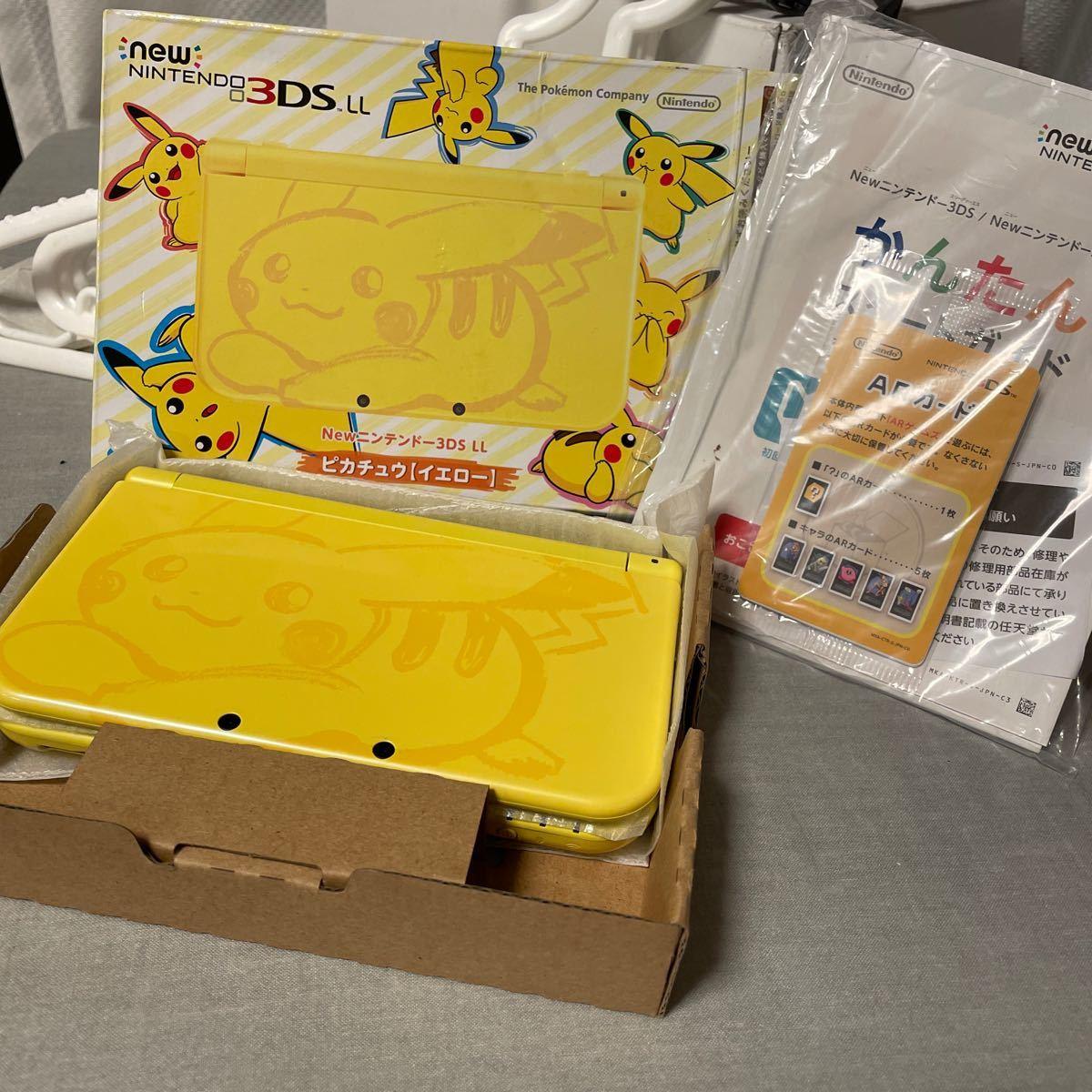Newニンテンドー3DS LL ポケットモンスター サン・ムーン ピカチュウ【イエロー】 RED-S-YCAA