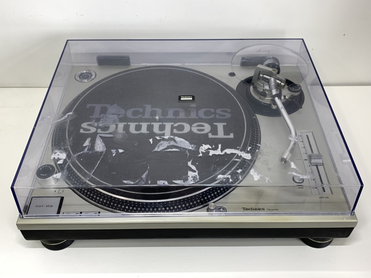 Technics テクニクス SL-1200MK3D<動作品>シルバー◆レコードプレーヤー ターンテーブル □_画像3