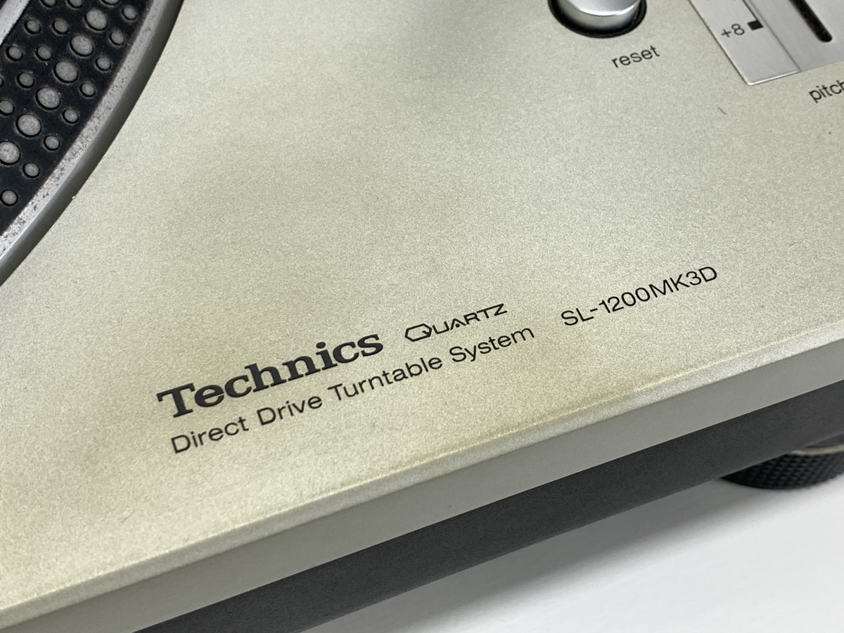 Technics テクニクス SL-1200MK3D<動作品>シルバー◆レコードプレーヤー ターンテーブル □_画像4