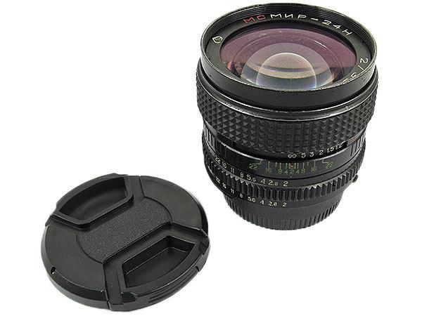 【オールドレンズ】【ロシアレンズ】MC MIR-24H 35mm/f2 NIKONマウント【現状品】【ジャンク扱】_画像1