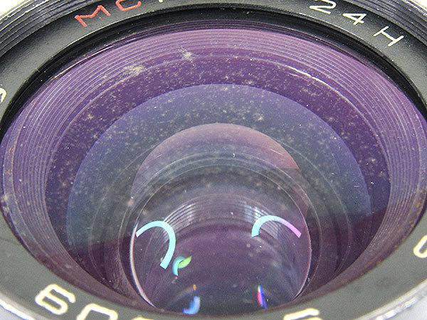 【オールドレンズ】【ロシアレンズ】MC MIR-24H 35mm/f2 NIKONマウント【現状品】【ジャンク扱】_画像6