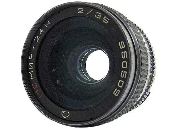 【オールドレンズ】【ロシアレンズ】MC MIR-24H 35mm/f2 NIKONマウント【現状品】【ジャンク扱】_画像3