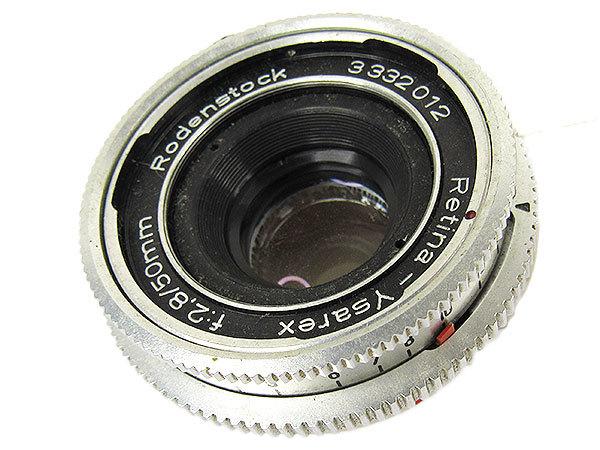 【オールドレンズ】Rodenstock Retina-Ysarex 50mm/f2.8 デッケルマウント【現状品】【ジャンク扱】 _画像1