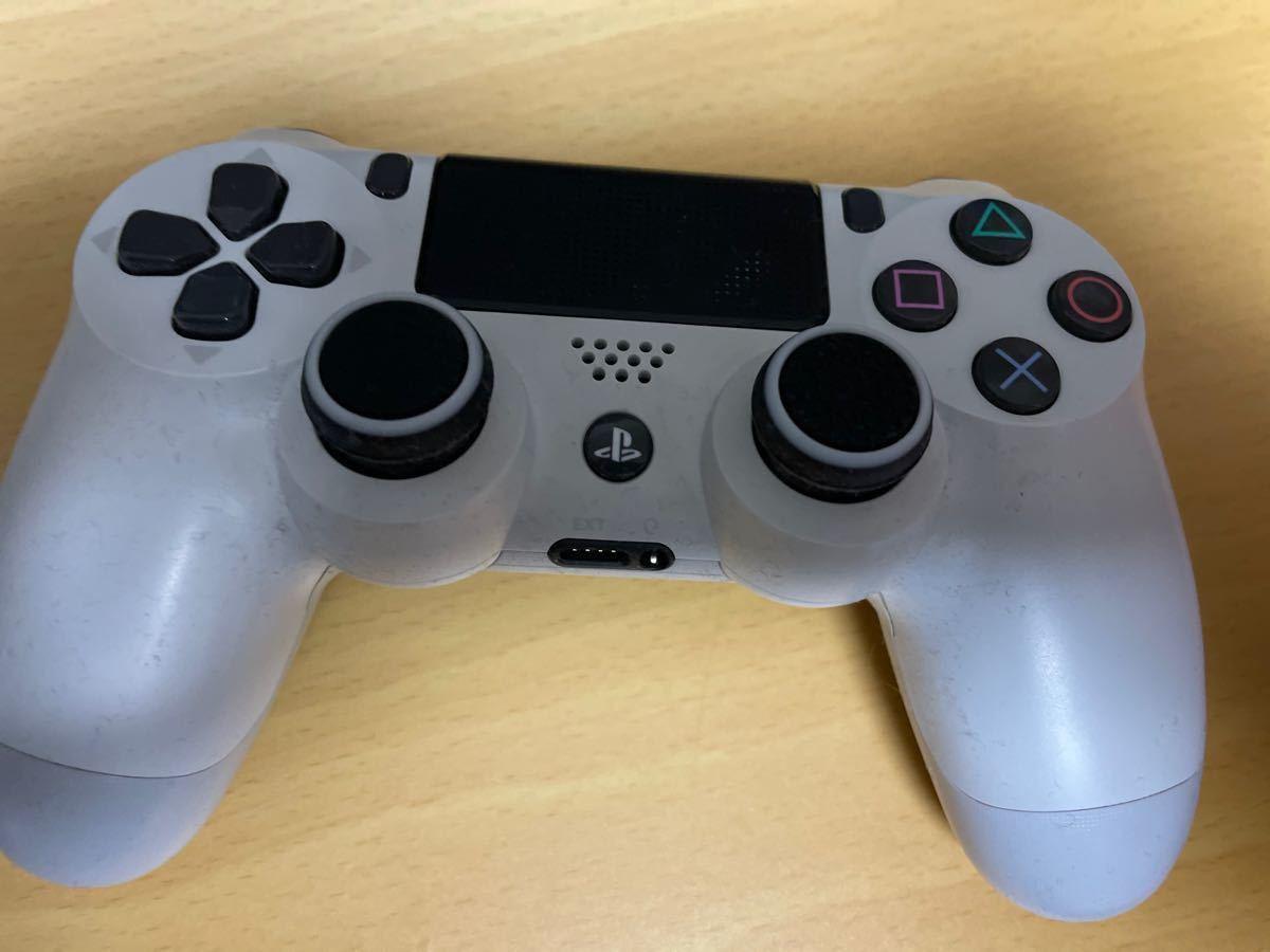 週末限定価格 SONY PlayStation PS4本体 CHU-2100ABO2 ホワイト 500GB 冷却ファン充電台付き