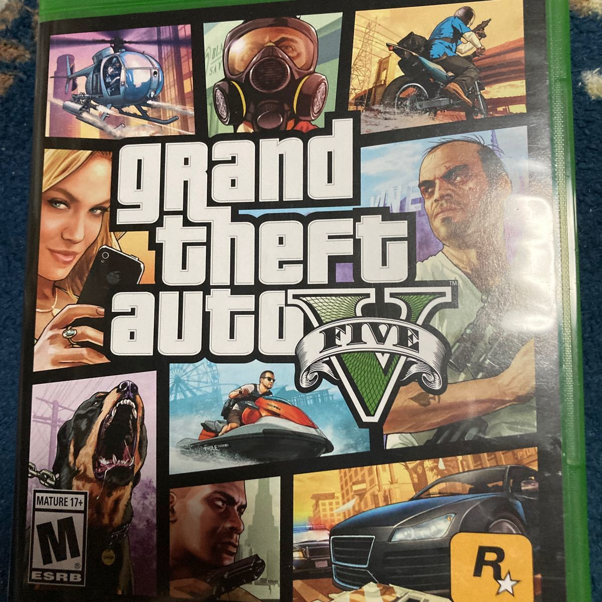 Xbox Oneソフト 北米版 grand theft auto V (18歳以上対象・国内版本体動作可)