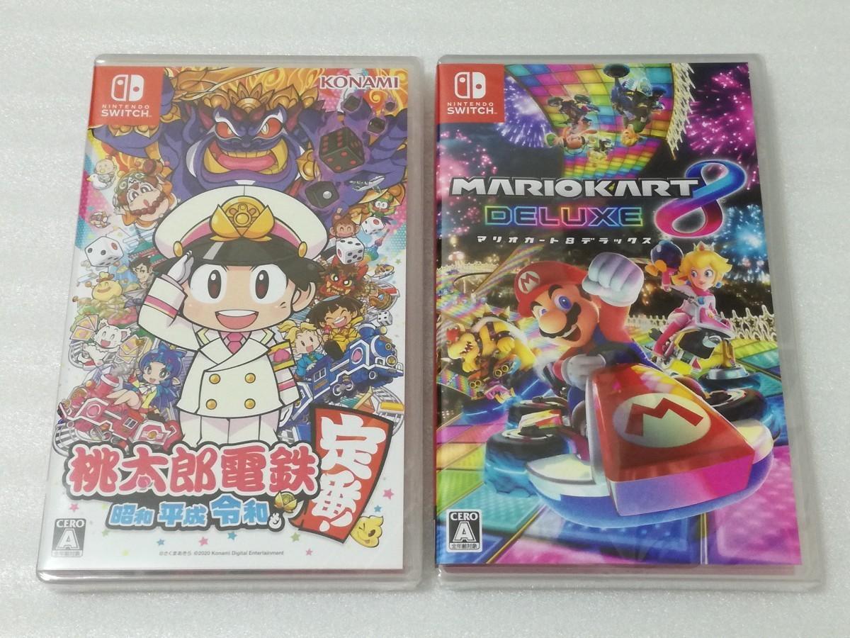 桃太郎電鉄 ~昭和 平成 令和も定番!~ マリオカート8 デラックス Nintendo Switch