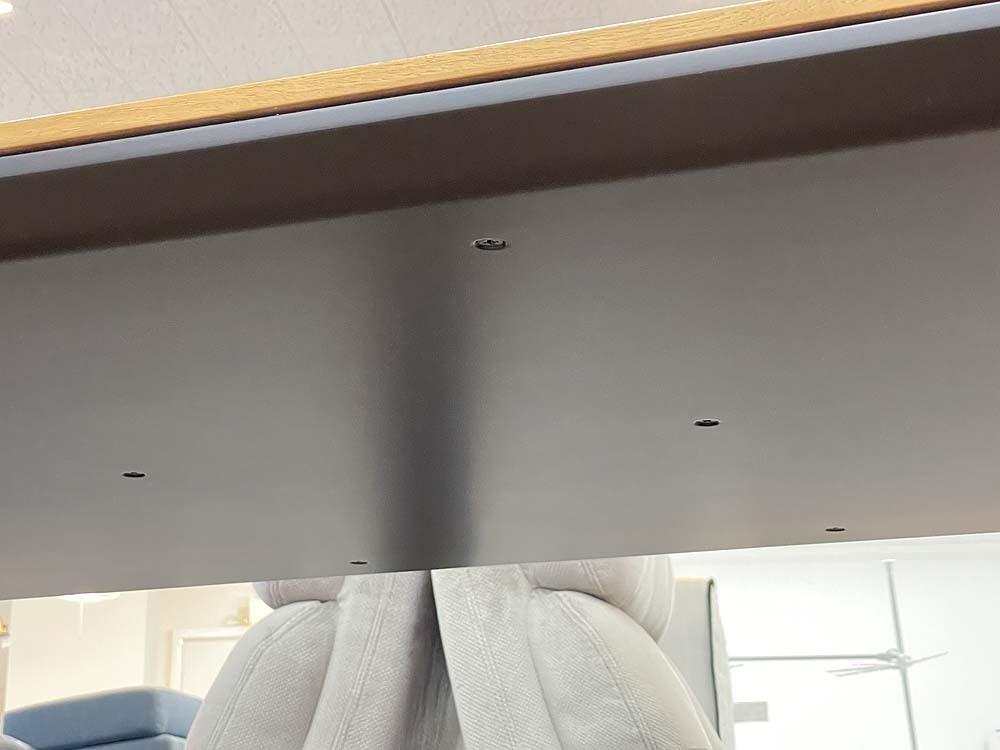 札幌発!! arflex/アルフレックス AFFOGATO/アフォガート 大型ダイニングテーブル ダークウォールナット AFG-215MBB(DWN) 現行品_画像6