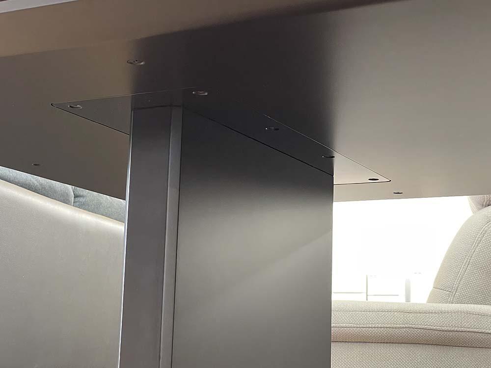 札幌発!! arflex/アルフレックス AFFOGATO/アフォガート 大型ダイニングテーブル ダークウォールナット AFG-215MBB(DWN) 現行品_画像5