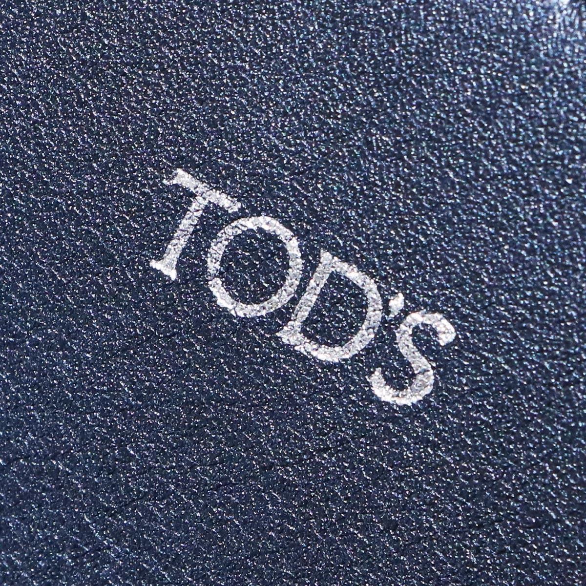 本物 新品同 トッズ 絶盤 メンズランウェイ限定 ゴンミーニ 2WAYメンズビジネスバッグ ブラック A4書類ブリーフケース トートバッグ TODS_画像6