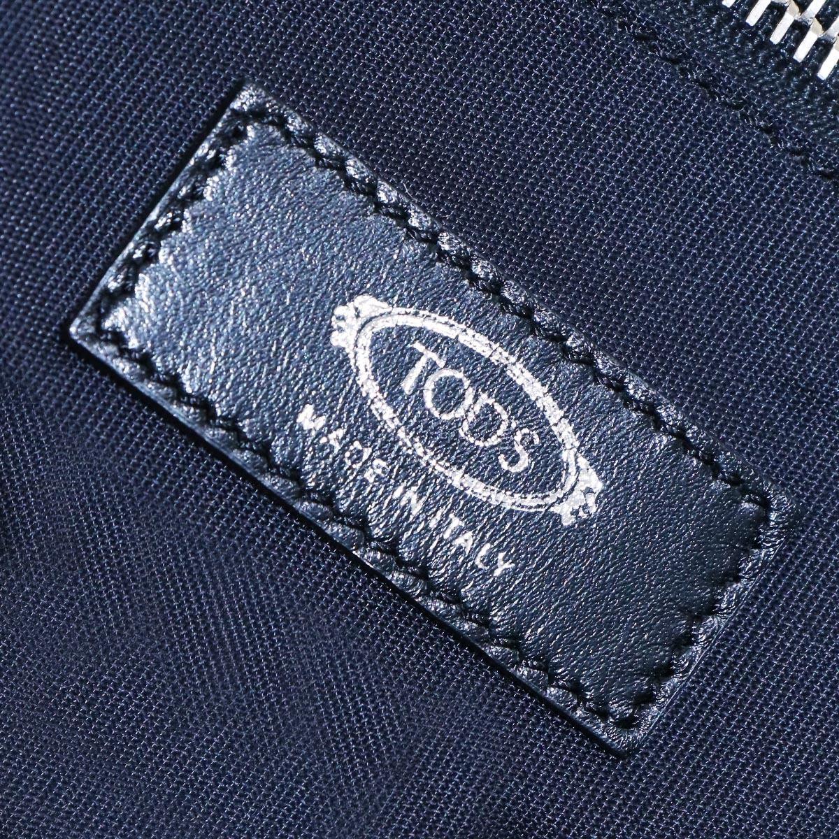 本物 新品同 トッズ 絶盤 メンズランウェイ限定 ゴンミーニ 2WAYメンズビジネスバッグ ブラック A4書類ブリーフケース トートバッグ TODS_画像9