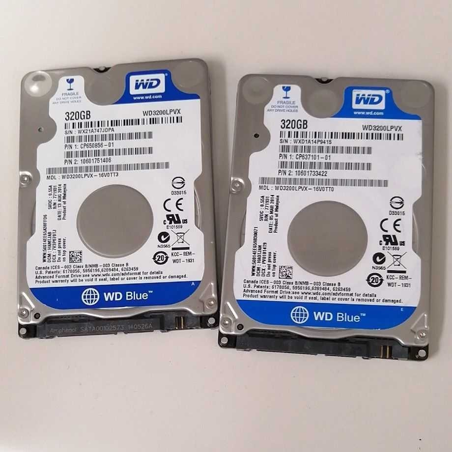 WD2.5インチ   HDD320GB   2点セット