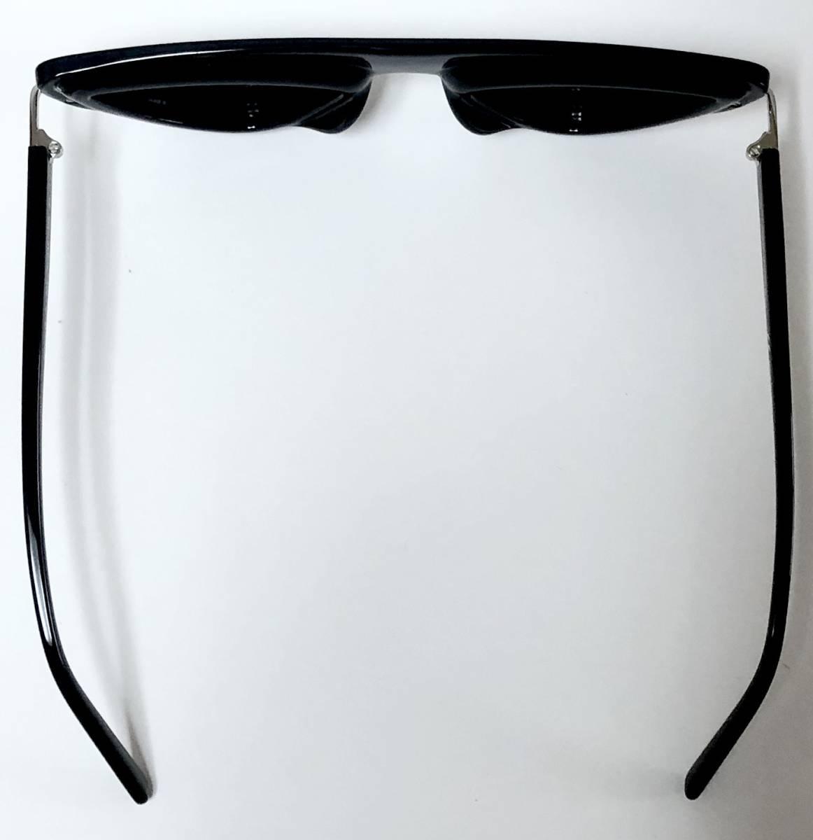 CK カルバンクライン 芸術的なサングラス イタリア製 純正・新品 ケース付き 米国ブランド Calvin Klein メガネ可能_画像8