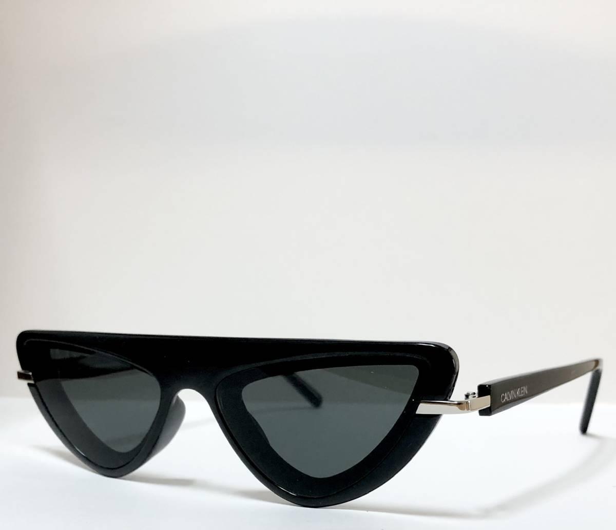 CK カルバンクライン 芸術的なサングラス イタリア製 純正・新品 ケース付き 米国ブランド Calvin Klein メガネ可能_画像3