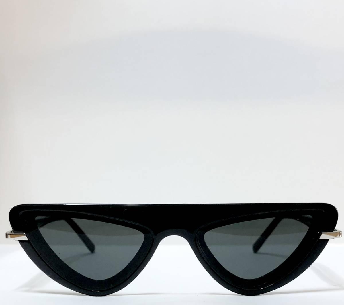 CK カルバンクライン 芸術的なサングラス イタリア製 純正・新品 ケース付き 米国ブランド Calvin Klein メガネ可能_画像1