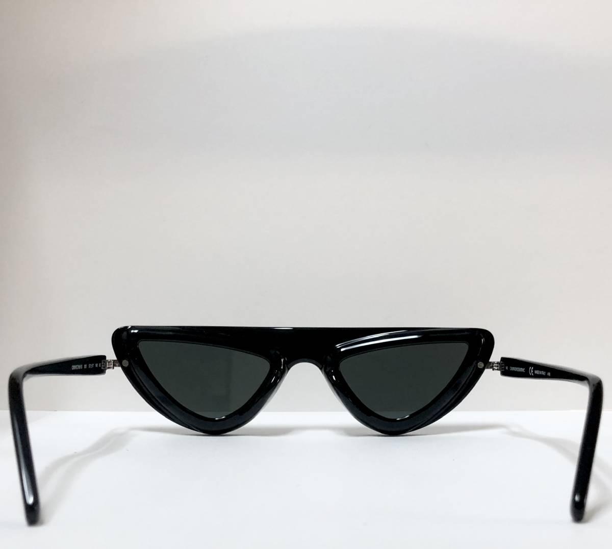 CK カルバンクライン 芸術的なサングラス イタリア製 純正・新品 ケース付き 米国ブランド Calvin Klein メガネ可能_画像7