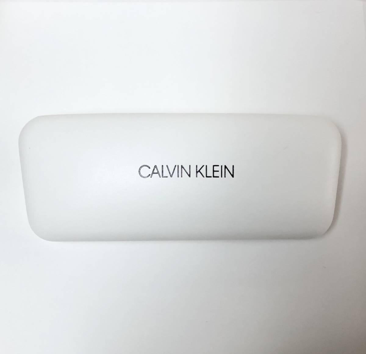 CK カルバンクライン 芸術的なサングラス イタリア製 純正・新品 ケース付き 米国ブランド Calvin Klein メガネ可能_画像10