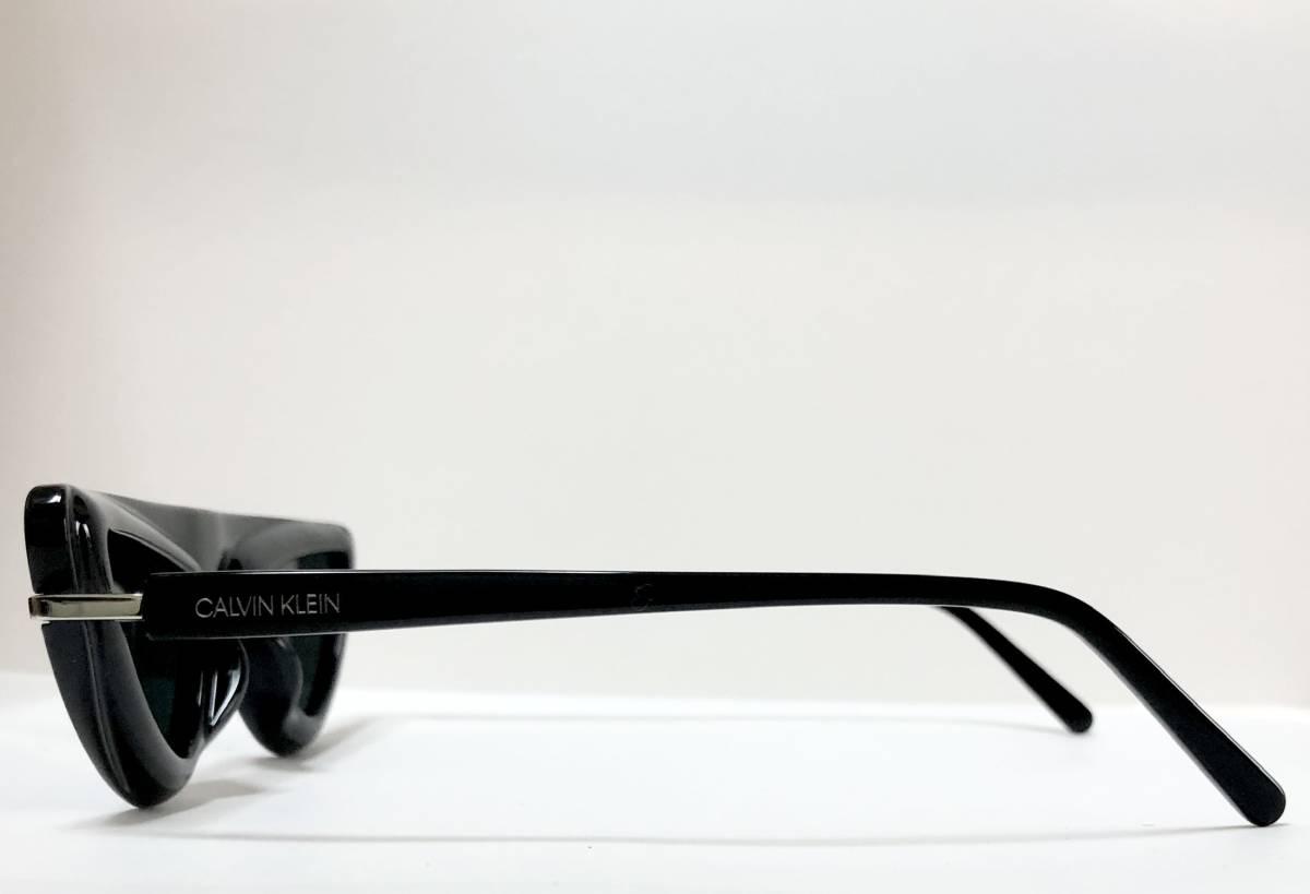 CK カルバンクライン 芸術的なサングラス イタリア製 純正・新品 ケース付き 米国ブランド Calvin Klein メガネ可能_画像4
