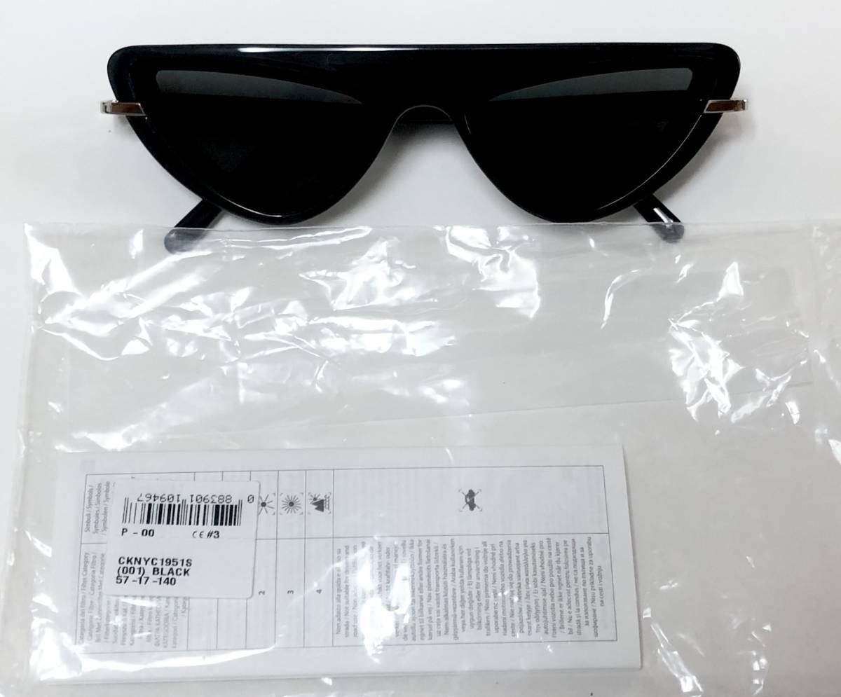 CK カルバンクライン 芸術的なサングラス イタリア製 純正・新品 ケース付き 米国ブランド Calvin Klein メガネ可能_画像9