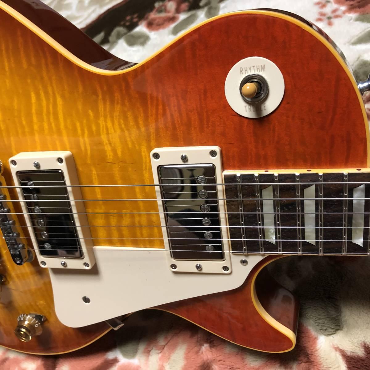訳あり チョイ傷ほぼ新品 2010年製 Gibson Custom Shop Historic Collection 1959 Les Paul Standard Reissue LPR-9 レスポール