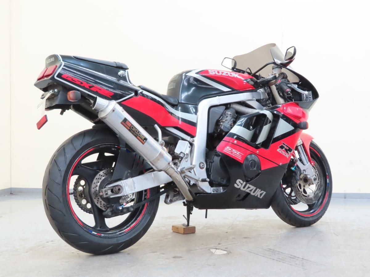 「特別出品!! スズキ GSX-R400R 【動画有】ローン可 車検残有 2022年11月まで GK76A 400cc マフラー改 SUZUKI 売り切り」の画像2