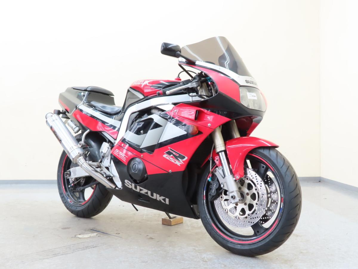 「特別出品!! スズキ GSX-R400R 【動画有】ローン可 車検残有 2022年11月まで GK76A 400cc マフラー改 SUZUKI 売り切り」の画像1