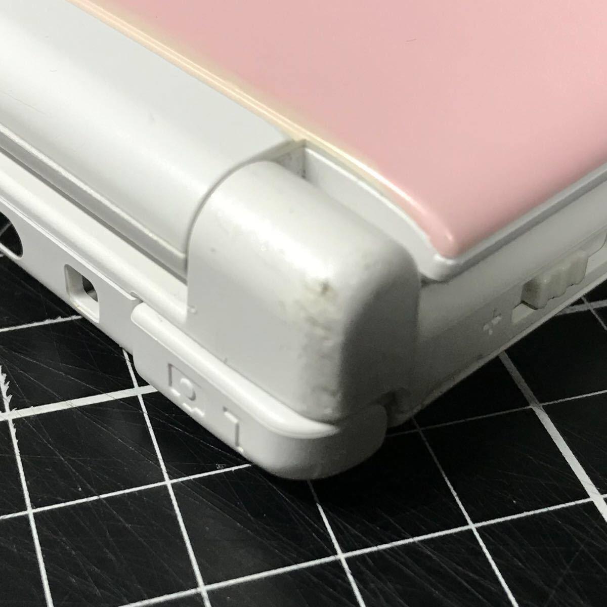 ニンテンドー3DS LL ピンク×ホワイト 良品 動作確認 アルコール清掃済み