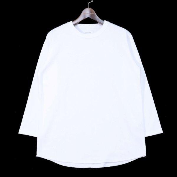 ADAM ET ROPE アダム エ ロペ 通年 長袖 カットソー Tシャツ Sz.M メンズ 白 E1T01052_4#F_画像1