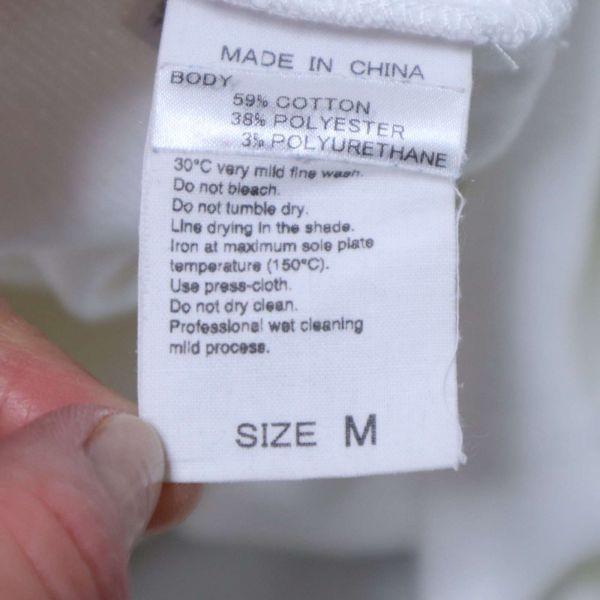 ADAM ET ROPE アダム エ ロペ 通年 長袖 カットソー Tシャツ Sz.M メンズ 白 E1T01052_4#F_画像6