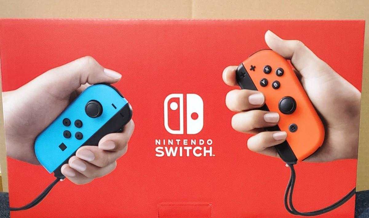 ニンテンドースイッチ ネオンブルー Nintendo Switch