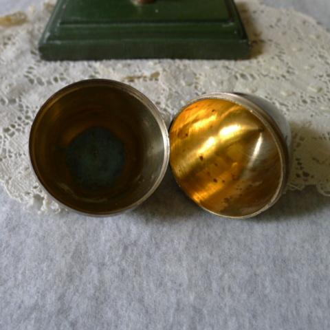 【貴重】英国アンティーク 真鍮製 アンティーク イースターエッグ イギリス雑貨_画像7