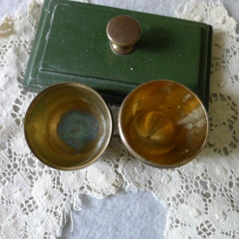 【貴重】英国アンティーク 真鍮製 アンティーク イースターエッグ イギリス雑貨_画像5