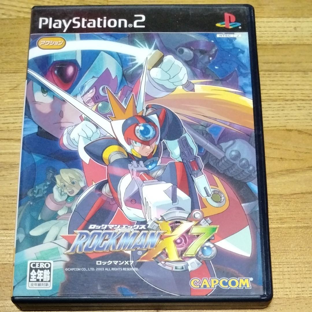 PlayStation ロックマンX7