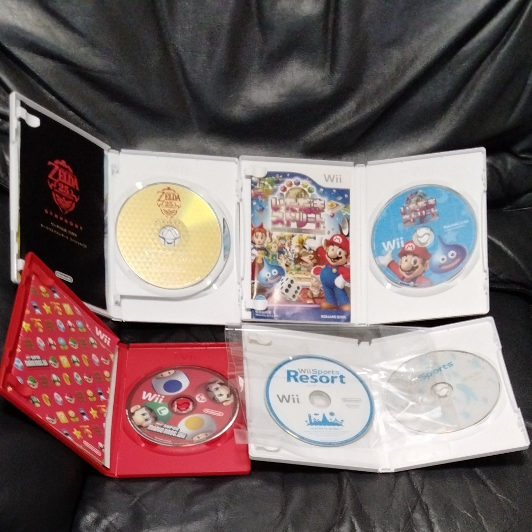 Wii ゼルダの伝説 スカイウォードソード いただきストリート スーパーマリオブラザーズ Wiiスポーツ Wii スポーツリゾート