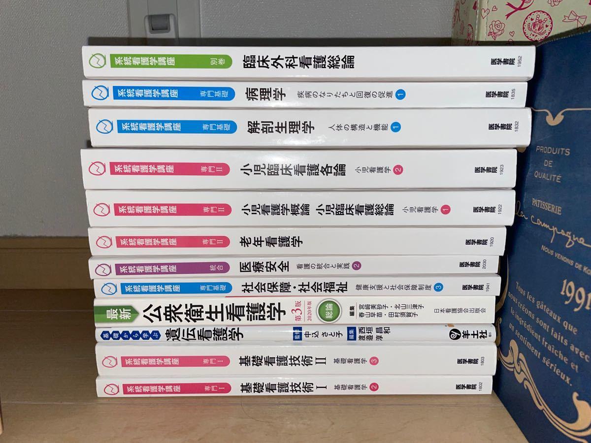 看護学生のための教科書。