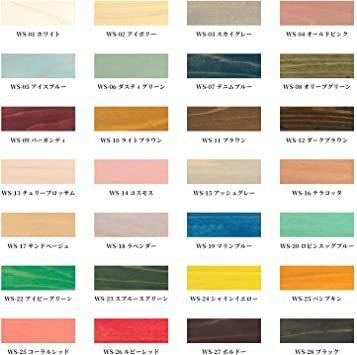 アッシュグレー 180ml 和信ペイント 水性着色剤 ウッドアトリエ ウッドステイン 180ml 800665 木目を生かした着_画像3