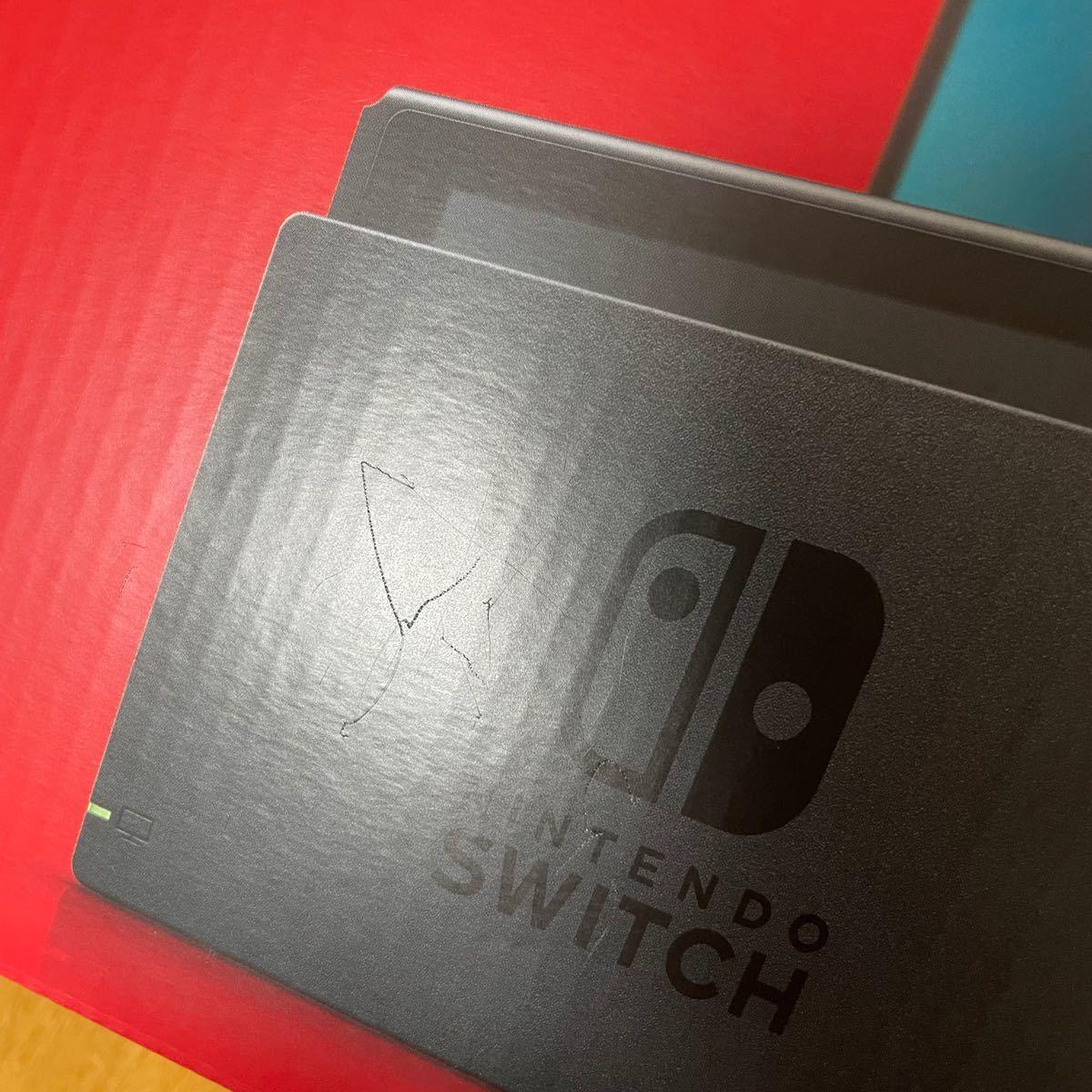 未使用 Nintendo Switch ニンテンドー スイッチ 新型 本体 Joy-Con ジョイコン 一式 無し