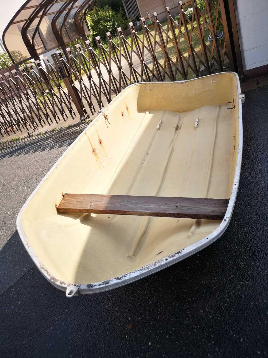 「福岡発★ヤマハ 2馬力でも使えるボート 引取限定」の画像1
