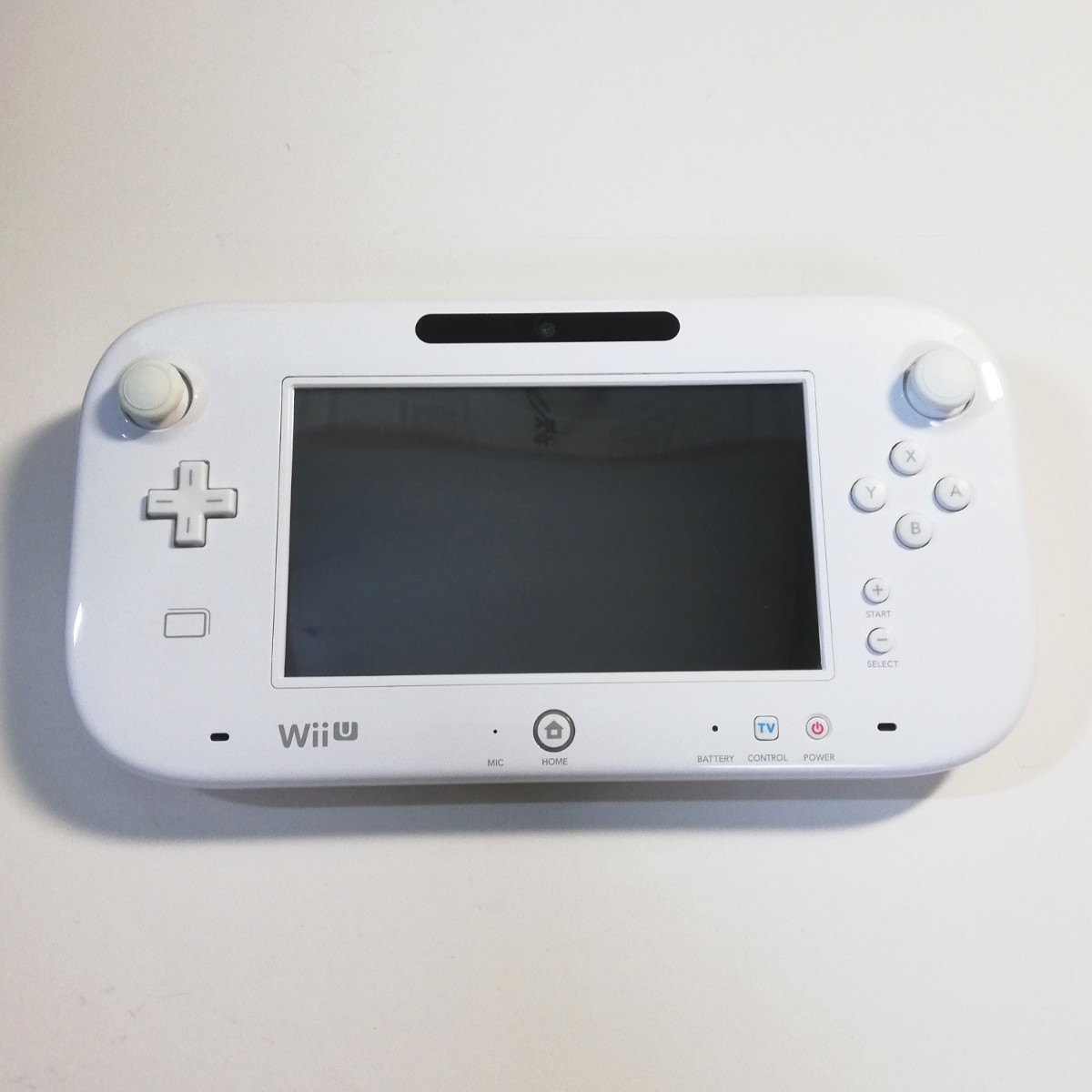 任天堂 WiiU ゲームパッド  白