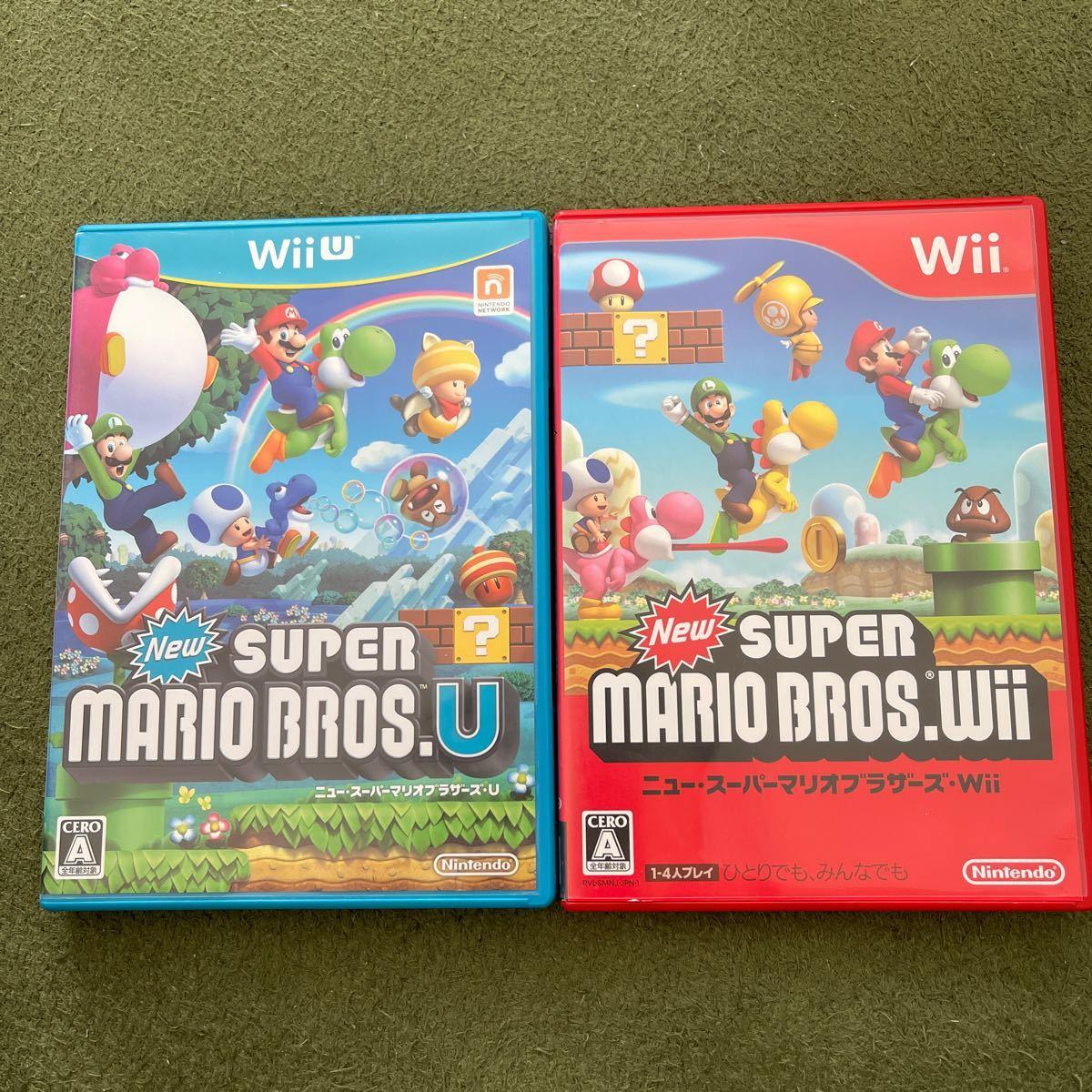 Newスーパーマリオブラザーズ WiiU ソフト