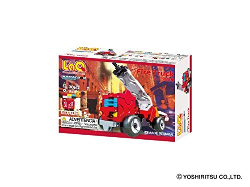 ラキュー (LaQ) ハマクロンコンストラクター ミニ 消防車_画像2